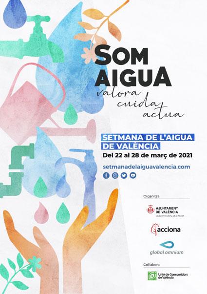 cartell setmana de l'aigua